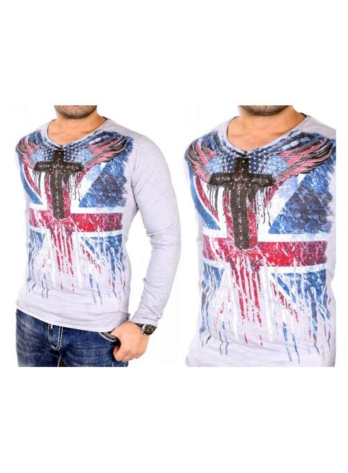 Bluza Longsleeve USA Cross Athletic