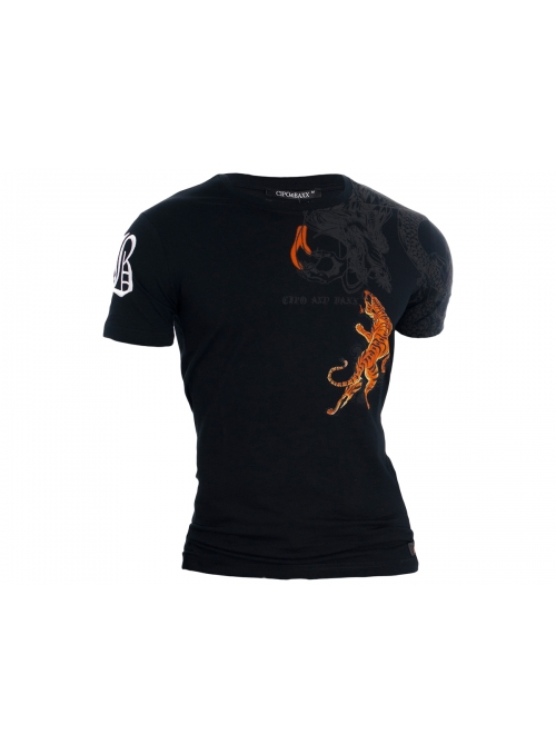 T-shirt Cipo Baxx Tiger Dragon
