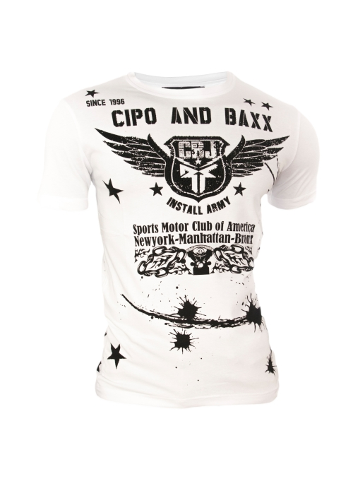 T-Shirt Cipo Baxx Motor Club of America