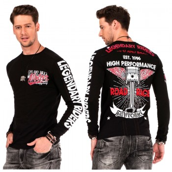 Cipo Baxx Bluza Longsleeve High Performance