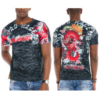 T-Shirt Cipo Baxx Mazany Dragon Race
