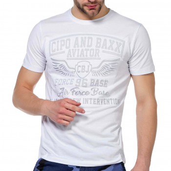 T-Shirt Cipo Baxx Koszula Aviator Air Force